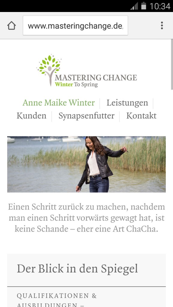 Anne Maike Winter - Mastering Change - Profil