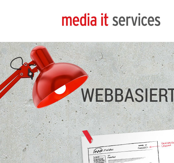 Screenshot der Website media it services & consulting